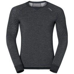 Odlo Koszulka męska l/s crew neck Revolution X-warm czarna r. L  (110222). Czarne koszulki sportowe męskie Odlo, l. Za 246,52 zł.