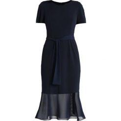Swing Sukienka z dżerseju dark blue. Niebieskie sukienki z falbanami marki Swing, z dżerseju. Za 459,00 zł.