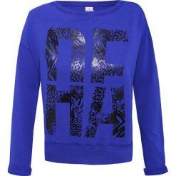 Bluzy rozpinane damskie: Bluza DEHA Niebieski