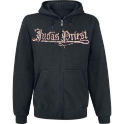 Bluzy męskie: Judas Priest Sad Wings Bluza z kapturem rozpinana czarny