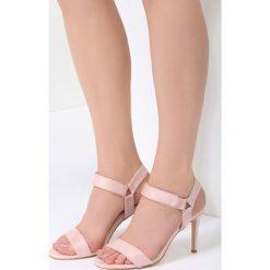 Różowe Sandały Often Enough. Czerwone sandały damskie vices, na wysokim obcasie. Za 89,99 zł.