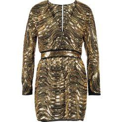 Sukienki hiszpanki: Ivyrevel CHAMPAGNE Sukienka koktajlowa black/gold