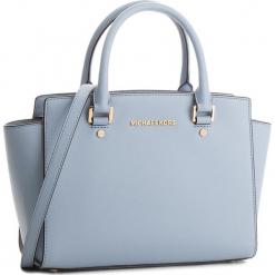 Torebka MICHAEL MICHAEL KORS - Selma 30S3GLMS2L  Pale Blue. Żółte torebki klasyczne damskie marki MICHAEL Michael Kors, ze skóry. W wyprzedaży za 1069,00 zł.