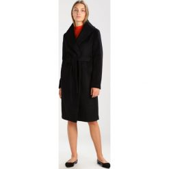 Mint&berry Płaszcz wełniany /Płaszcz klasyczny black. Czarne płaszcze damskie pastelowe mint&berry, z materiału, klasyczne. W wyprzedaży za 411,75 zł.