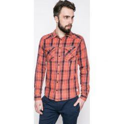 Blend - Koszula. Różowe koszule męskie na spinki marki Blend, l, w kratkę, z bawełny, z klasycznym kołnierzykiem, z długim rękawem. W wyprzedaży za 89,90 zł.