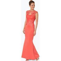 Lipsy - Damska sukienka wieczorowa, czerwony. Czerwone sukienki hiszpanki Lipsy, l, z aplikacjami, z koronki, wizytowe. Za 499,95 zł.