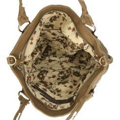 TOREBKA HK66167. Brązowe torebki klasyczne damskie Casu. Za 69,99 zł.