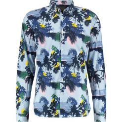 Koszule męskie na spinki: Knowledge Cotton Apparel PALM SEA  Koszula skyway