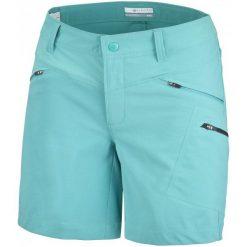 Columbia Spodenki Peak To Point Short Miami 6. Niebieskie spodenki sportowe męskie marki Columbia, z materiału, sportowe. W wyprzedaży za 169,00 zł.