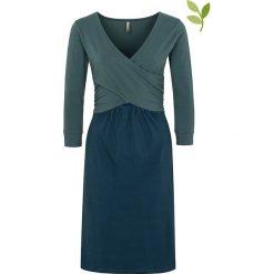 """Sukienki hiszpanki: Sukienka """"Jeanie"""" w kolorze morskim"""