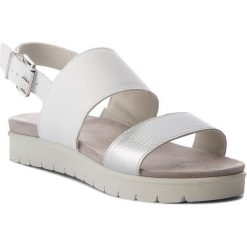 Rzymianki damskie: Sandały IMAC – 107710 White/Grey 1405/018