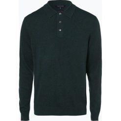 Andrew James - Sweter męski z dodatkiem kaszmiru, zielony. Zielone swetry klasyczne męskie Andrew James, m, z kaszmiru. Za 249,95 zł.