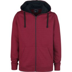 Bluzy męskie: Black Premium by EMP Mask Of Sanity Bluza z kapturem rozpinana czerwony