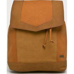 Roxy - Plecak. Brązowe plecaki damskie Roxy, z materiału. Za 229,90 zł.