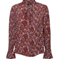 Koszule body: Koszula z kołnierzykiem polo, kwiatowy nadruk