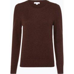 Brookshire - Sweter damski, brązowy. Brązowe swetry klasyczne damskie marki brookshire, l, z wełny. Za 149,95 zł.