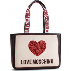 Plecak LOVE MOSCHINO - JC4154PP17L3100A  Nero/Avario. Czarne plecaki damskie Love Moschino, ze skóry ekologicznej, klasyczne. Za 779,00 zł.
