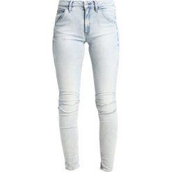 GStar 5622 MID SKINNY  Jeans Skinny Fit elto superstretch. Szare jeansy damskie relaxed fit marki G-Star, z bawełny. W wyprzedaży za 365,40 zł.
