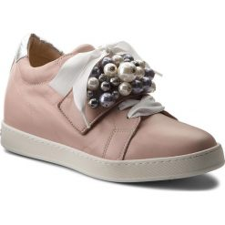 Sneakersy damskie: Sneakersy PETER KAISER – Lusann 31133/482 Powder Samoa Silber Corfu Weiss Perle