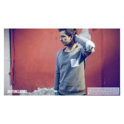 BLUZA ONE POCKET UNISEX kolory łaty. Fioletowe bluzy męskie rozpinane Pakamera, na lato, s, z bawełny. Za 269,00 zł.