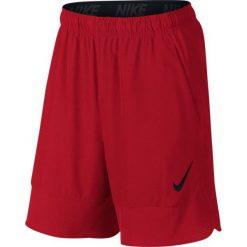 """Nike Spodenki Treningowe Flex 8"""" 742242 657 S. Czerwone spodenki sportowe męskie Nike, m, z tkaniny, na fitness i siłownię. W wyprzedaży za 139,00 zł."""