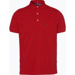 Tommy Hilfiger - Męska koszulka polo, czerwony. Szare koszulki polo marki TOMMY HILFIGER, z bawełny. Za 199,95 zł.