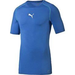 Puma Koszulka męska TB Shortsleeve Shirt Tee M niebieska  r. S. Niebieskie koszulki sportowe męskie Puma, m. Za 75,58 zł.