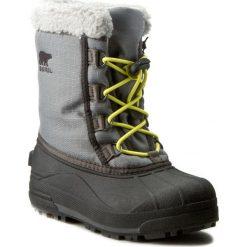 Buty zimowe chłopięce: Śniegowce SOREL – Youth Cumberland NY1886 City Grey/Gris Urbain 023