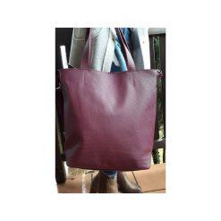 Duża skórzana torba Hobo. Czerwone torby na laptopa Pracownia6-9, ze skóry, duże. Za 250,00 zł.