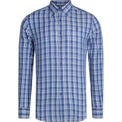 Koszule męskie na spinki: Koszula CONTE OF FLORENCE BLU POLVEROSO Niebieski|Print