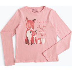 Odzież: Review - Dziewczęca koszulka z długim rękawem, różowy