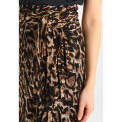 Długie spódnice: NAKD OVERLAP SKIRT Długa spódnica beige/black
