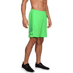 Spodenki sportowe męskie: Under Armour Spodenki męskie Woven Graphic Short zielone r. XL (1309651-701)