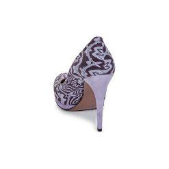 Czółenka Missoni  SM113. Fioletowe buty ślubne damskie Missoni. Za 1350,30 zł.