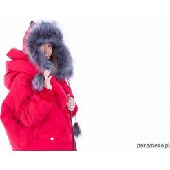 Czerwona czapka zimowa. Czerwone czapki zimowe damskie Pakamera, na zimę. Za 180,00 zł.