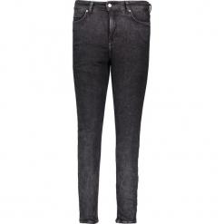 Dżinsy - Slim fit - w kolorze czarnym. Niebieskie spodnie z wysokim stanem marki Mustang, z aplikacjami, z bawełny. W wyprzedaży za 195,95 zł.