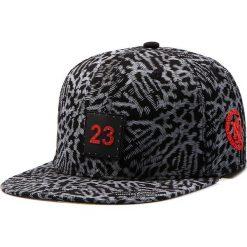 Czapka męska snapback czarna (hx0171). Czarne czapki z daszkiem męskie marki Dstreet, z aplikacjami, eleganckie. Za 69,99 zł.