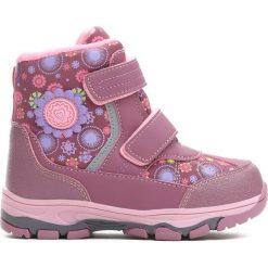 Buty dziecięce: Różowe Traperki Rivalry