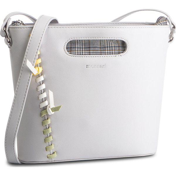 568804caf9f39 Torebka MONNARI - BAG4150-019 Grey - Szare torebki klasyczne damskie Monnari,  bez wzorów, ze skóry ekologicznej, klasyczne, bez dodatków.