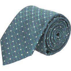 Krawat makrowzór zielony 100. Zielone krawaty męskie Recman. Za 49,00 zł.
