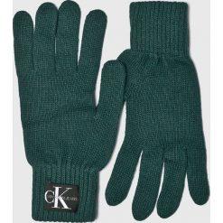 Calvin Klein Jeans - Rękawiczki. Szare rękawiczki męskie Calvin Klein Jeans, z dzianiny. Za 139,90 zł.