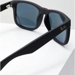 RayBan JUSTIN Okulary przeciwsłoneczne dark blue polar/black. Niebieskie okulary przeciwsłoneczne męskie aviatory Ray-Ban, z polaru. Za 649,00 zł.