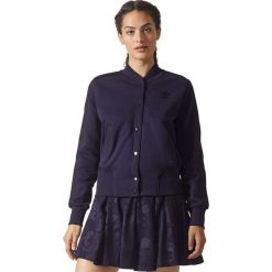 Bluzy rozpinane damskie: Adidas Bluza damska Collegiate granatowa r. 36 (BS4314)