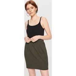 Spódniczki: Ołówkowa spódnica – Khaki