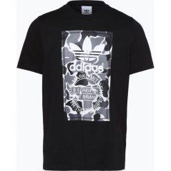 Adidas Originals - T-shirt męski, czarny. Czarne t-shirty męskie z nadrukiem adidas Originals, m. Za 159,95 zł.