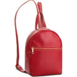 Plecak CREOLE - K10551  Czerwony. Czarne plecaki damskie marki Creole, ze skóry. W wyprzedaży za 179,00 zł.