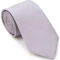 Krawat 87-7K-002-8. Szare krawaty męskie Wittchen, w paski, z bawełny. Za 149,00 zł.