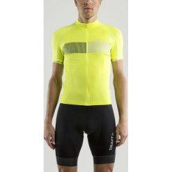 Odzież rowerowa męska: Craft Koszulka rowerowa Verve Glow Jersey żółta r. L (1904995-2809)