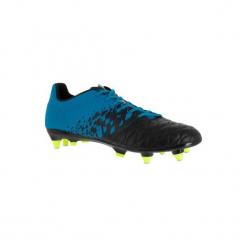 Buty do rugby Agility Hybride 900 SG. Czarne buty skate męskie marki KIPSTA, z poliesteru. Za 179,99 zł.