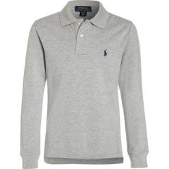 Polo Ralph Lauren CUSTOM FIT Koszulka polo andover heather. Szare bluzki dziewczęce bawełniane marki Polo Ralph Lauren. W wyprzedaży za 171,75 zł.